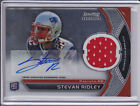 2011 Bowman Sterling Stevan Ridley RC Jersey Auto New England Patriots