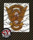 CHP CALIFORNIA HIGHWAY PATROL MOTORCYCLE WING AND WHEEL - 2x DECALS 4