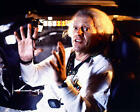 CHRISTOPHER LLOYD AS DOC SITTING IN DELOREAN BACK TO THE FUTURE 24X30 POSTER