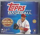 TOPPS 2012 SERIES 1 SEALED BASEBALL JUMBO HOBBY BOX