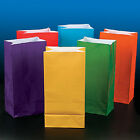 Asst. Bright Color Paper bags AS LOW AS 26¢ ea BIRTHDAY Lunch TREAT Favor #338