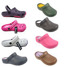 LADIES CLOGS WOMENS GIRL COOLERS NURSING GARDEN SLIPPERS SHOES CLOG 3 4 5 6 7 8