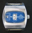 OLD GDR GERMAN MEISTER ANKER DIGITAL UHR WATCH JUMPING INOXYDABLE ANTIMAGNETIC x
