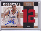 2010 11 National Treasures RC Colossal Jersey Auto Evan Turner # 43 49 Number
