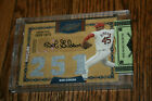 2008 Prime Cuts Timeline Career Material Bob Gibson Auto 3x Triple Jersey 1 5