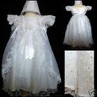 New Baby Girl Christening Baptism Formal Party Dress size 0 6M18 24M24 30M