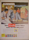1958 Vendo Coffee Maker Vending Machine~Coca-Cola~Coke~Ice Cream~Milk Promo AD