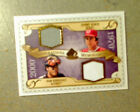 2009 SP LEGENDARY CUTS GENERATIONS MEMORABILIA JOHNNY BENCH IVAN RODRIGUEZ NM MT