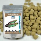 YFS Monster Floating Large Pellets 7mm Bulk Aquarium Fish Food 1/2  Pound