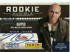 2012 Panini Fathers Day Playoff Contenders Rookie Audible AUTO Rapper Nick Javas
