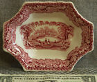 Mason's Vista red pink sweet meat dish with old