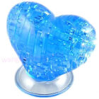 3D Crystal Puzzle Jigsaw Love Heart Model DIY IQ Toy Furnish Gift Souptoy Gadget