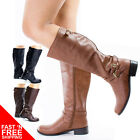 Bio Military Equestrian Biker Riding Boots Tall Knee high Soda Shoes Women