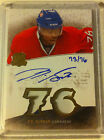 P.K. Subban 2010-11 The Cup Honorable Numbers Jersey Auto Rookie 76
