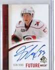 11 UD SP Authentic Jeff Skinner RC Auto # 999 Future Watch SP True RC Autograph