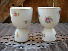 Pair of Heinrich Bavaria Egg Holders/Cups w/Floral Design Lovely!