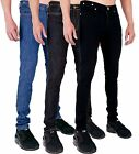 MENS SUPER SKINNY STRETCH DENIM JEANS BRANDED by AD 28 30 32 34 36 38 40