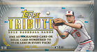 2013 TOPPS TRIBUTE BASEBALL HOBBY BOX NEW UNOPENED