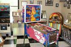 RESTORED 1978 BALLY DOLLY PARTON PINBALL MACHINE BRAND NEW CABINET/PAINT WHOA