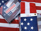 Valley Forge US American Flag 3x5 sewn Perma Nylon 100 Made in America USA