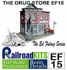 The Drug Store by Railroad Kits Ed Fulasz Series EF15 HO Scale Craftsman Kit FSM