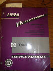 1996 CHEVY GEO TRACKER Service REPAIR Manual BK 2 TRANSMISSION ENGINE ELECTRICAL
