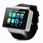 18 I3 Touch Screen Watch Wrist Cell Phone Mobile GSM Quad Band Camera MP3 4