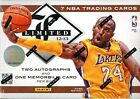 2012 13 PANINI LIMITED BASKETBALL HOBBY BOX