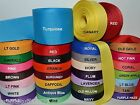 38 58 78 1.5 Grosgrain Ribbon 4 Yards Of 1 Color Solid Bulk Wholesale