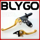 GOLD CNC Heavy Duty Clutch + Brake Lever Set 125cc 150cc PIT PRO TRAIL DIRT BIKE