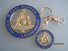 NEW Masonic Past Master car Auto Emblem & key chain