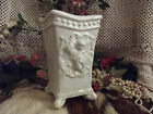 Chic Vintage CHERUB Angel FOOTED VASE Urn Planter ARDCO of DALLAS Ceramic ART