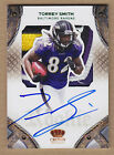 11 2011 Crown Royale GREEN Torrey Smith RAVENS Logo Jersey Patch Auto RC #'d 10