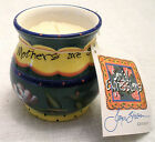 JOYCE SHELTON CERAMIC SOCIAL EXPRESSIONS VOTIVE HOLDER