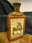 Jim Beam Bicentennial Bourbon Decanter Saturday Evening Post Ben Franklin NEAT!!