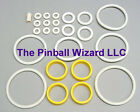 Captain Fantastic Pinball Machine White Rubber Ring Kit - 1976 Bally