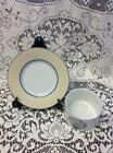 MINT Fitz & Floyd NOBILIS Clam Shell Nautical Pattern Cup & Saucer China