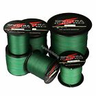 Spectra Moss Green 100 2000M 6 300LB Super Strong Dyneema Braided Fishing Line