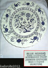 JOHNSON BROTHERS BLUE NORDIC  DINER PLATE 25cm  MADE IN ENGLAND Platter