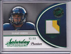 2011 Press Pass R Patch Shane Vereen Saturday Swatches # 92 99