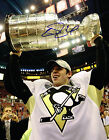 EVGENI MALKIN signed PITTSBURGH PENGUINS STANLEY CUP TROPHY 11x14 PHOTO w COA