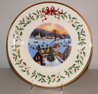 NIB LENOX HOLIDAY ANNUAL HOLIDAY CHRISTMAS COLLECTOR PLATE 2012 22ND IN SERIES