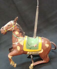 Old vintage Tin Winding Incomplete Horse toy from Japan 1930