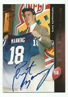PEYTON MANNING 1998 TOPPS BRONZE ON CARD AUTO ROOKIE RC N MINT #A10 BOLD AUTO