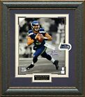 Russell Wilson Signed Seattle Seahawks Framed Photo
