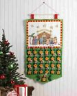 Bucilla Englebreit Child CHRISTMAS PAGEANT Felt Nativity Advent Calendar Kit