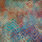 Hoffman Batik Cotton Fabric  K2436-578 Delta material for Quilting/Sewing