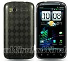 HTC SENSATION 4G PYRAMID CRYSTAL SKIN SMOKE CHECKER
