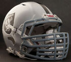***CUSTOM*** OAKLAND RAIDERS NFL Riddell Speed AUTHENTIC Football Helmet