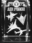 3D AIRFORCE 2 3 Inch Laser Crystal w Light Base